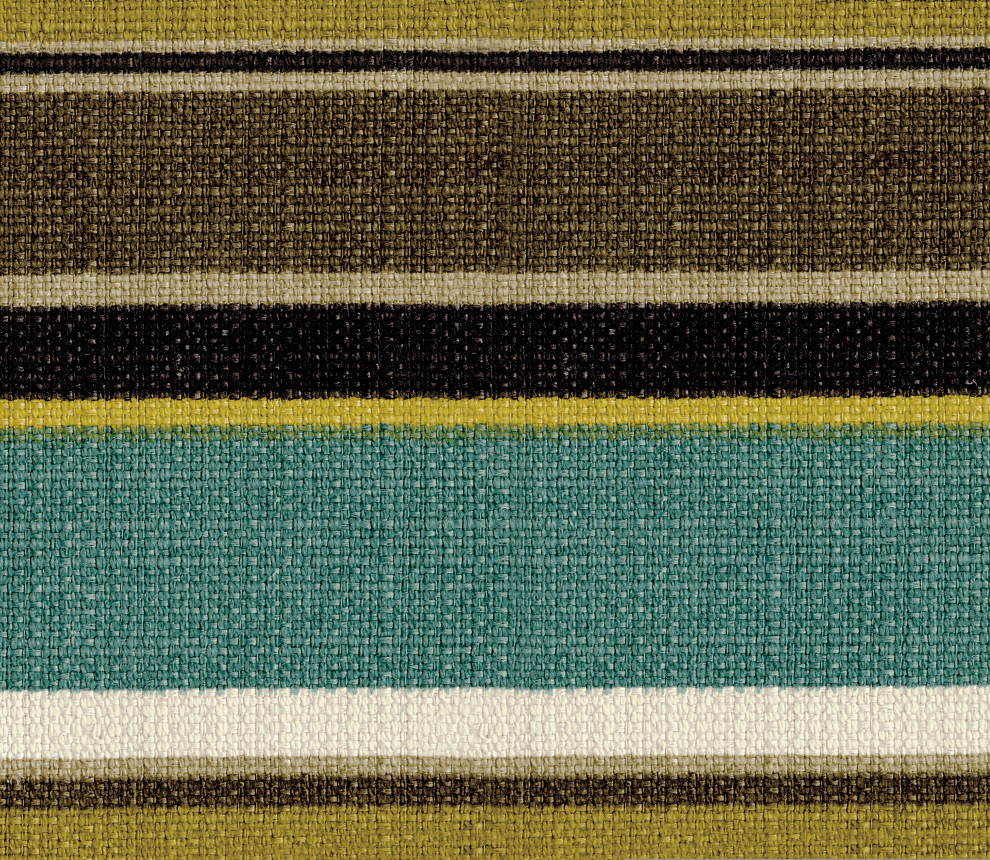 Hariton Shitake Stripe Accent Pillow Fabric Swatch