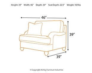 Hariston Oversized Chair, , large