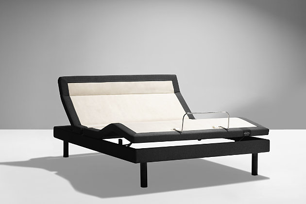 Tempur-Pedic Ergo Extend™ Horizontal California King Power Base (Foot), Charcoal, large