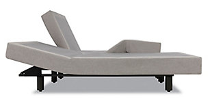 Tempur Premier Adjustable Twin Power Base, Gray, rollover