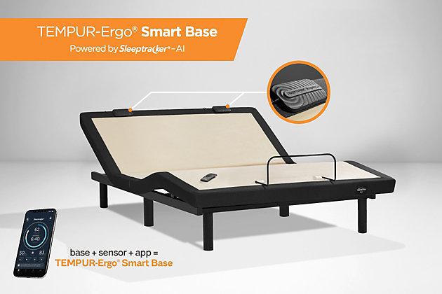 TEMPUR-Ergo® Smart Base Twin XL, Black/Gray, large