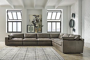 Alabonson 6-Piece Sectional, , rollover