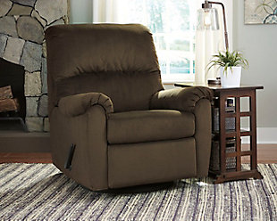Bronwyn Swivel Glider Recliner, Cocoa, large