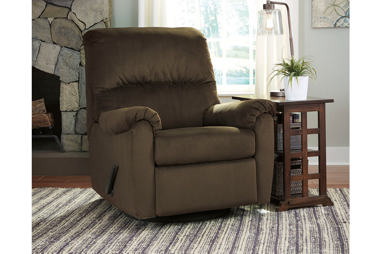 Ashley Furniture Small Swivel Rocker Zion Star
