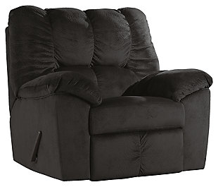 Julson Recliner, Ebony, large