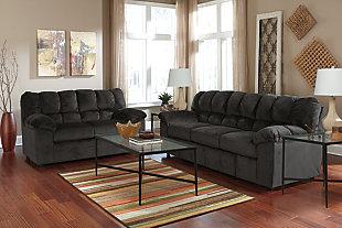 Julson Sofa, Ebony, large