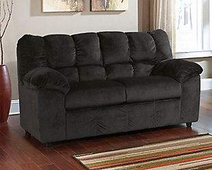 Julson Loveseat, Ebony, large