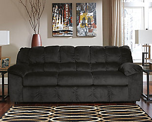 Julson Sofa, Ebony, large