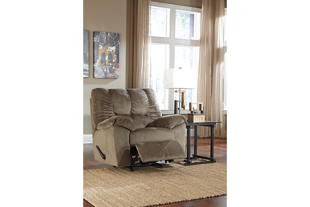 relax in the julson beige reclining chairs