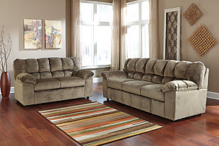 Julson Sofa and Loveseat set, Dune, large