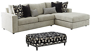 Ravenstone 2-Piece Sectional with Ottoman, , large