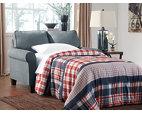 Denim Zeth Twin Sofa Sleeper View 3