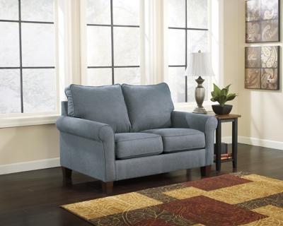 Zeth Twin Sofa Sleeper by Ashley HomeStore, Denim