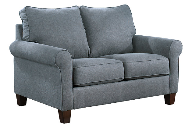Superior ... Zeth Twin Sofa Sleeper, Denim, Large ...
