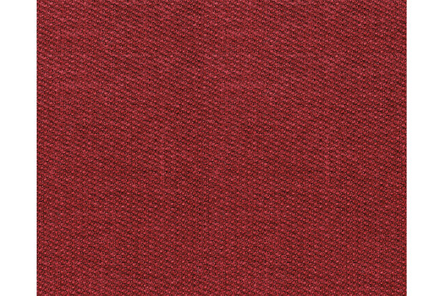 Zeth Crimson Fabric Swatch