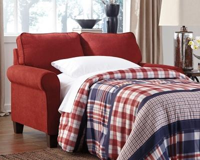 Zeth Twin Sofa Sleeper by Ashley HomeStore, Crimson