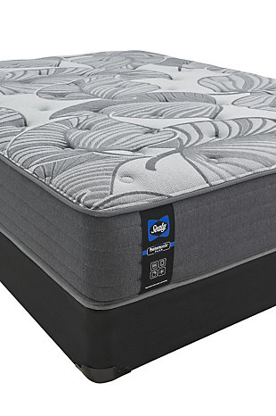 Sealy Ashcreek Medium Queen Mattress, Gray, large