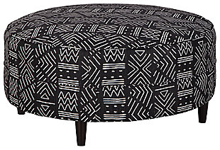 Neira Oversized Accent Ottoman, , large