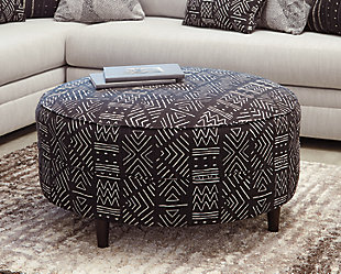 Neira Oversized Accent Ottoman, , rollover