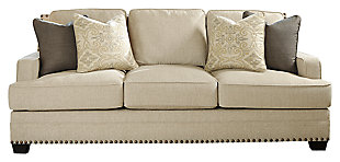 Cloverfield Sofa, Jute, large