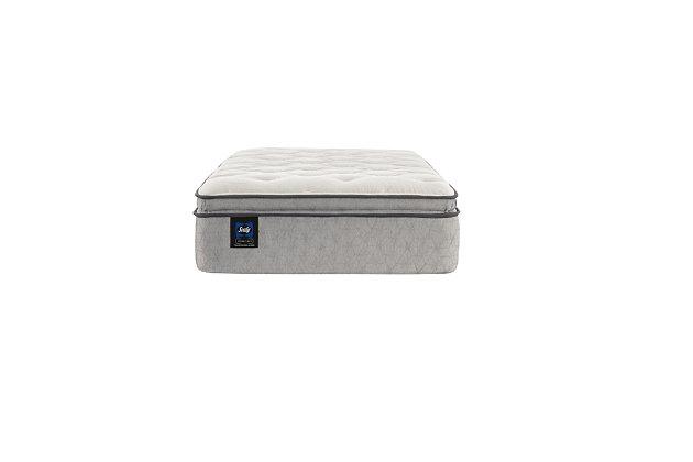 Sealy Verdana Soft Pillowtop Twin Mattress, White, large