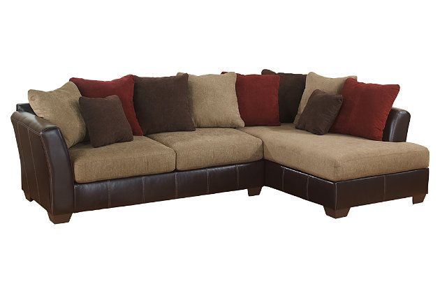Tan Sanya 2-Piece Sectional by Ashley HomeStore