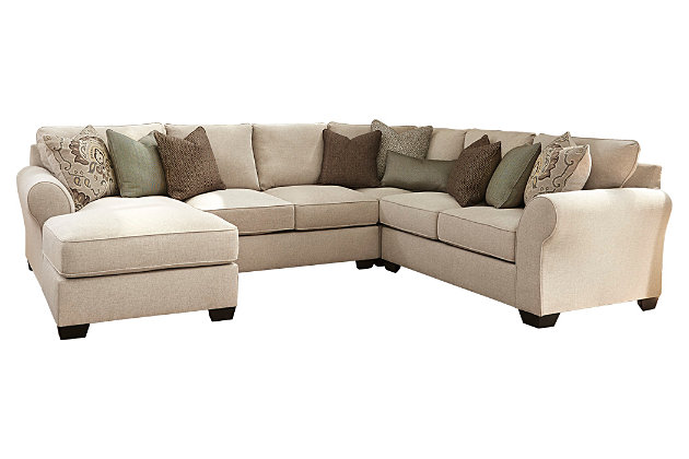 Wilcot 4 piece loveseat sectional ashley furniture homestore for Wilcot 4 piece sofa sectional