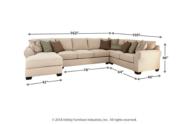 Wilcot 4-Piece Sofa Sectional, , large