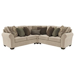 Wilcot 3-Piece Sectional, , large