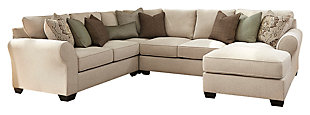 Wilcot 4-Piece Loveseat Sectional, , large