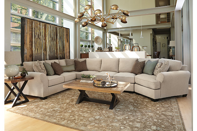 Wilcot 4 Piece Sofa Sectional With Cuddler Ashley