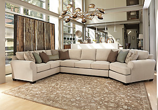 Wilcot 4-Piece Sofa Sectional with Cuddler, , large