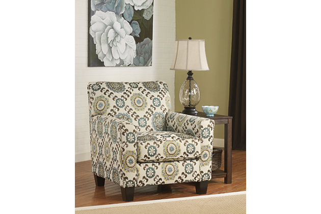 Corley Chair by Ashley HomeStore, White, Polyester (100 %)