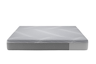 Sealy Atwater Village Hybrid Firm Twin Mattress, Gray, large
