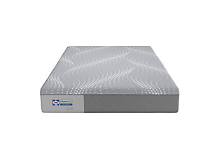 Sealy Bridle Lane Hybrid Medium Twin Mattress, Gray, rollover