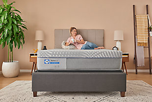 Sealy Canterbury Court Hybrid Firm Twin Mattress, Gray, large