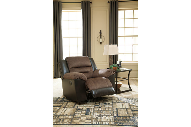 Earhart Recliner, Chestnut, large