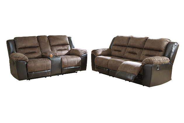 Earhart Sofa and Loveseat, , large