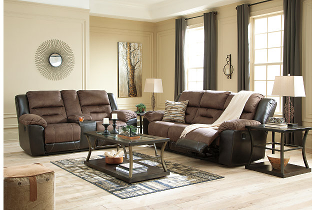 Earhart Reclining Sofa Ashley Furniture Homestore