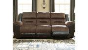 Earhart Reclining Sofa, Chestnut, rollover