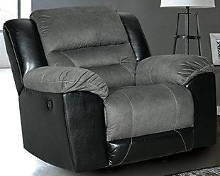 Earhart Sofa, Loveseat and Recliner, Slate, large