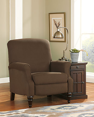 Laflorn Chairside End Table with USB Ports & Outlets, , large