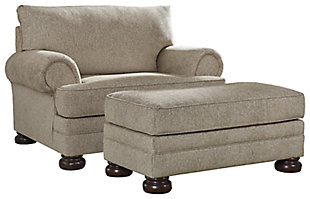 Kananwood Chair and Ottoman, , large