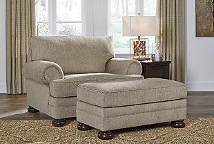 Kananwood Chair and Ottoman, , large