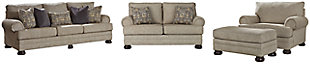 Kananwood Sofa, Loveseat, Chair and Ottoman, , large