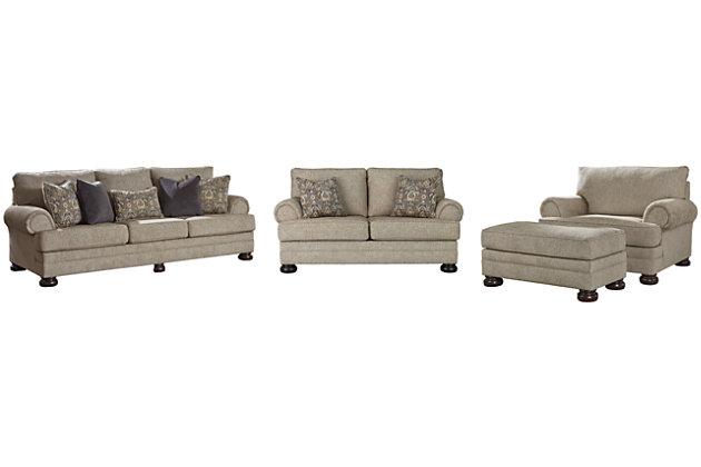 Kananwood Sofa, Loveseat, Chair and Ottoman, , large