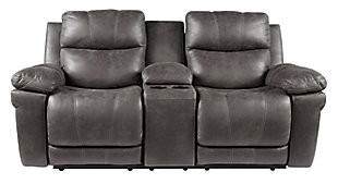 Erlangen Power Reclining Loveseat with Console, , large