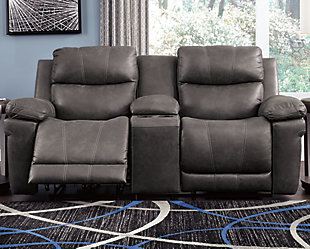 Erlangen Power Reclining Loveseat with Console, , rollover