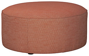 Almanza Oversized Accent Ottoman, , large