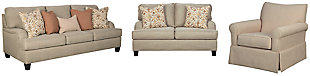 Almanza Sofa, Loveseat and Chair, , large